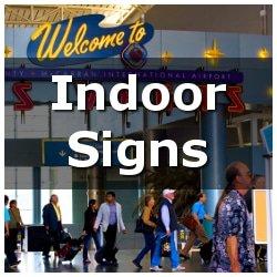 Custom Indoor Signs