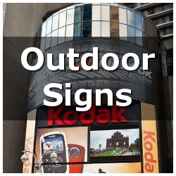Custom Outdoor Signs