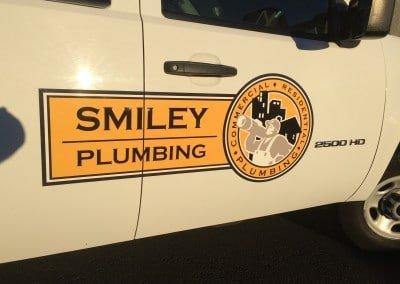 Smiley Plumbing doors