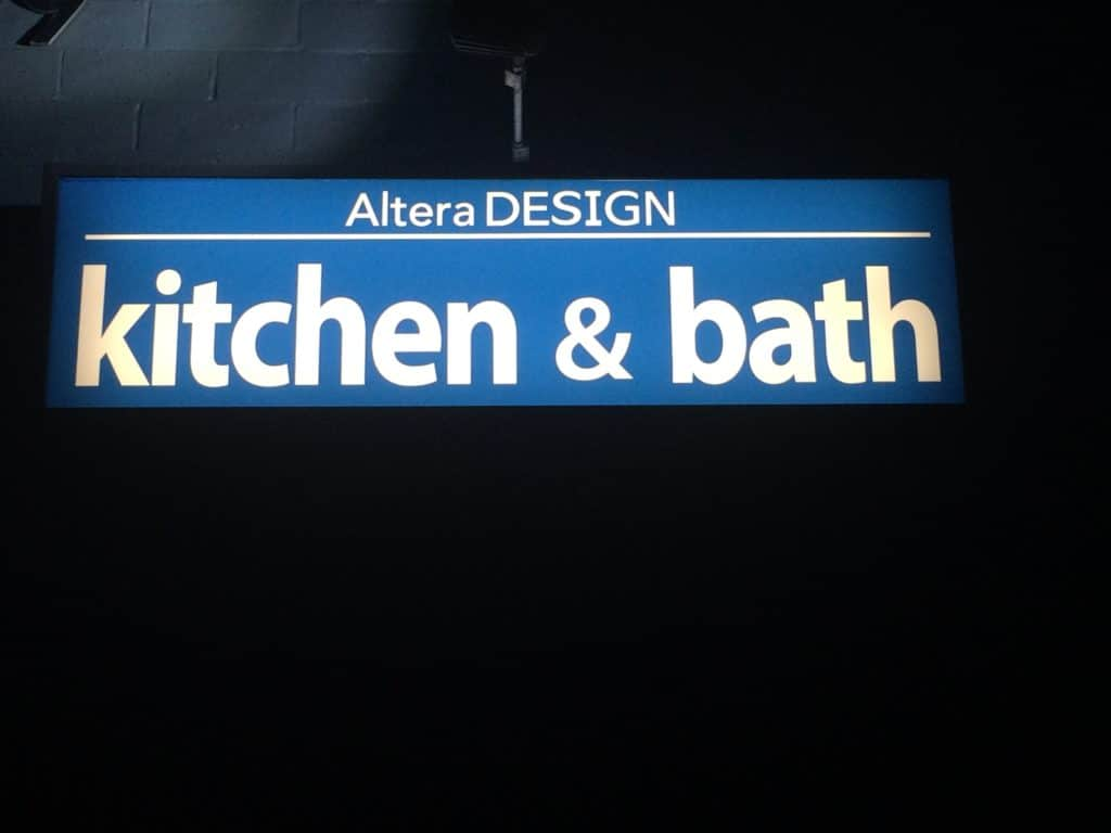 Business Sign Lighting