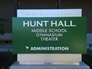Custom Aluminum Monument Sign