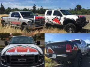 Devil Mountain Diesel Custom Truck Wrap
