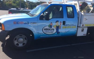 Commercial Vehicle Wrap in Walnut Creek for Absolute Plumbing