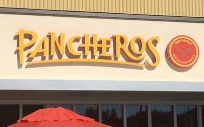Custom Channel Letters Signage for Pancharos