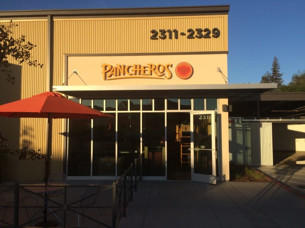 Channel Lettering for Pancharos Restaurant
