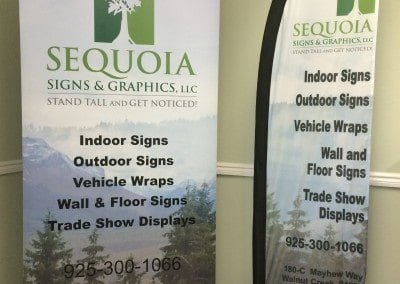 Sequoia Signs Banner and Flag