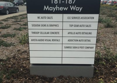 Custom Monument Signs - Walnut Creek, CA