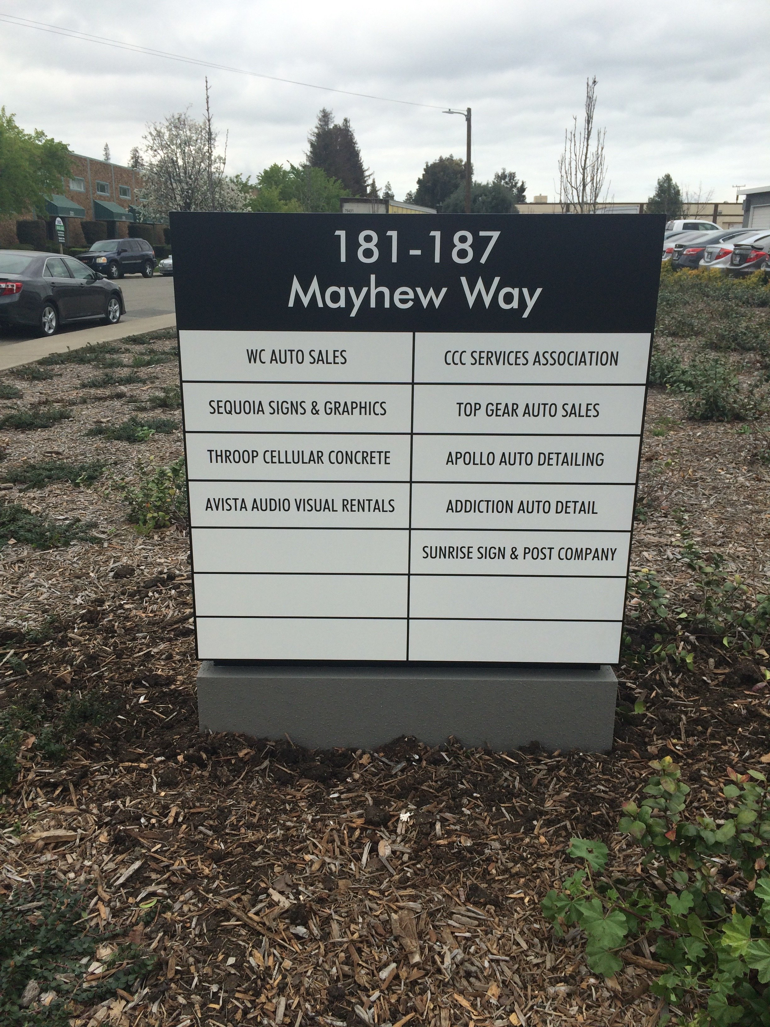 Monument Signs | East Bay, CA | Sequoia Signs & Graphics