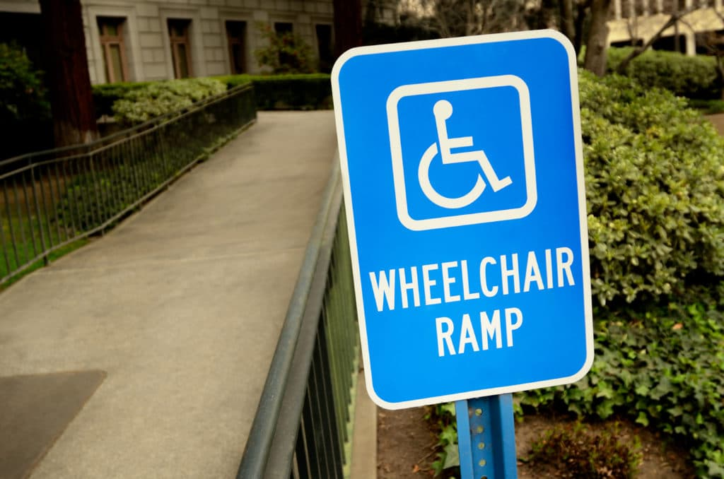 Americans With Disabilities Sign Requirements