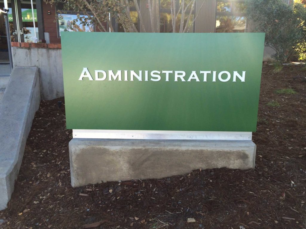 Monument Signs for Businesses in San Ramon CA