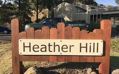 Martinez- Monument Sign for Heather Hills HOA