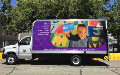 Fleet Graphics for Contra Costa Library in Martinez