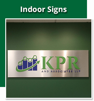 Indoor Signs - Sequoia Signs East Bay