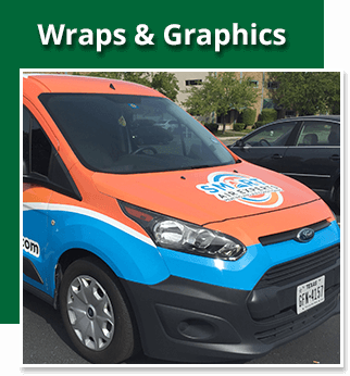 Wraps & Graphics - Sequoia Signs East Bay