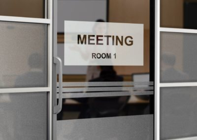 Conference Room Sign - Sequoia Signs East Bay