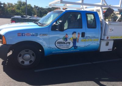 Pick-up Truck Wrap - Sequoia Signs East Bay