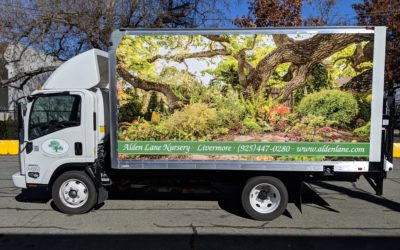 Box Truck Wrap in the East Bay for Alden Lane Nursery