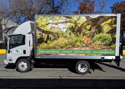 Box truck wrap - east bay