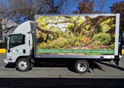 Box truck wrap - east bay