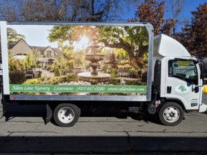 Fleet Vehicle Wrap for box truck