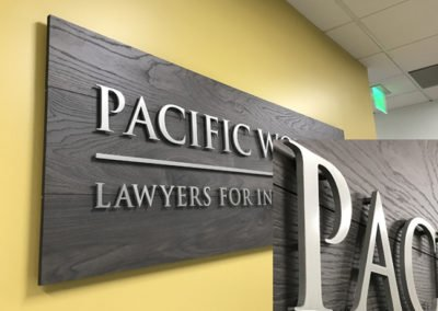 Lobby & Reception Signs - Sequoia Signs East Bay