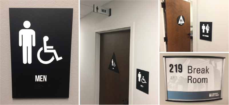 ADA compliant signage for your buisness
