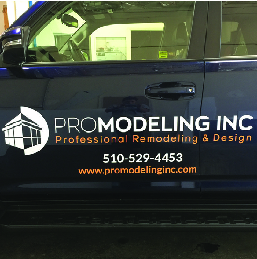 Exterior Signage - Vehicle Wrap