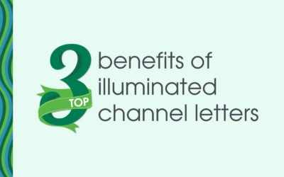 Top 3 Benefits of Using Illuminated Channel Letters For Your Business Signs