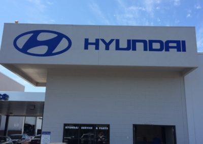 Autodealer Hyundai Wall Graphic2