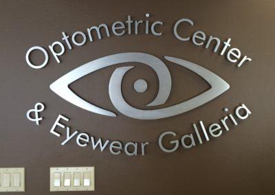 Lobby Signs Optometric Center