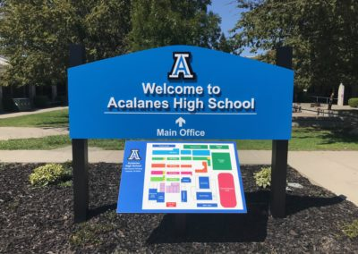 Acalanes High School Sign