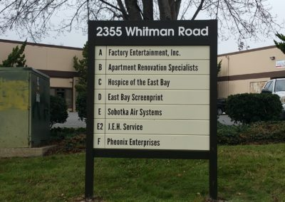 Business Parks Signage - Sequoia Signs East Bay