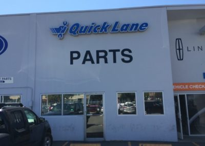 Auto Dealership Signage
