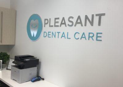 Dental office signage