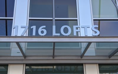 The Art of Detail: Entrance Signs at 1716 Lofts
