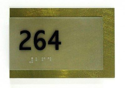 Olive Green Room ID ADA Compliant Signs - Sequoia Signs Walnut Creek