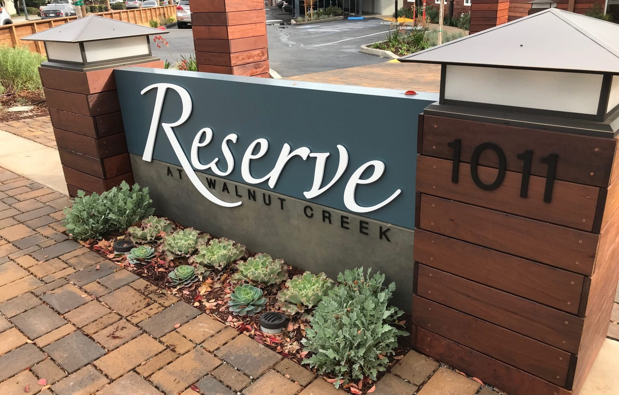 Monument Signs for Multi-Family Housing project - Sequoia Signs East Bay