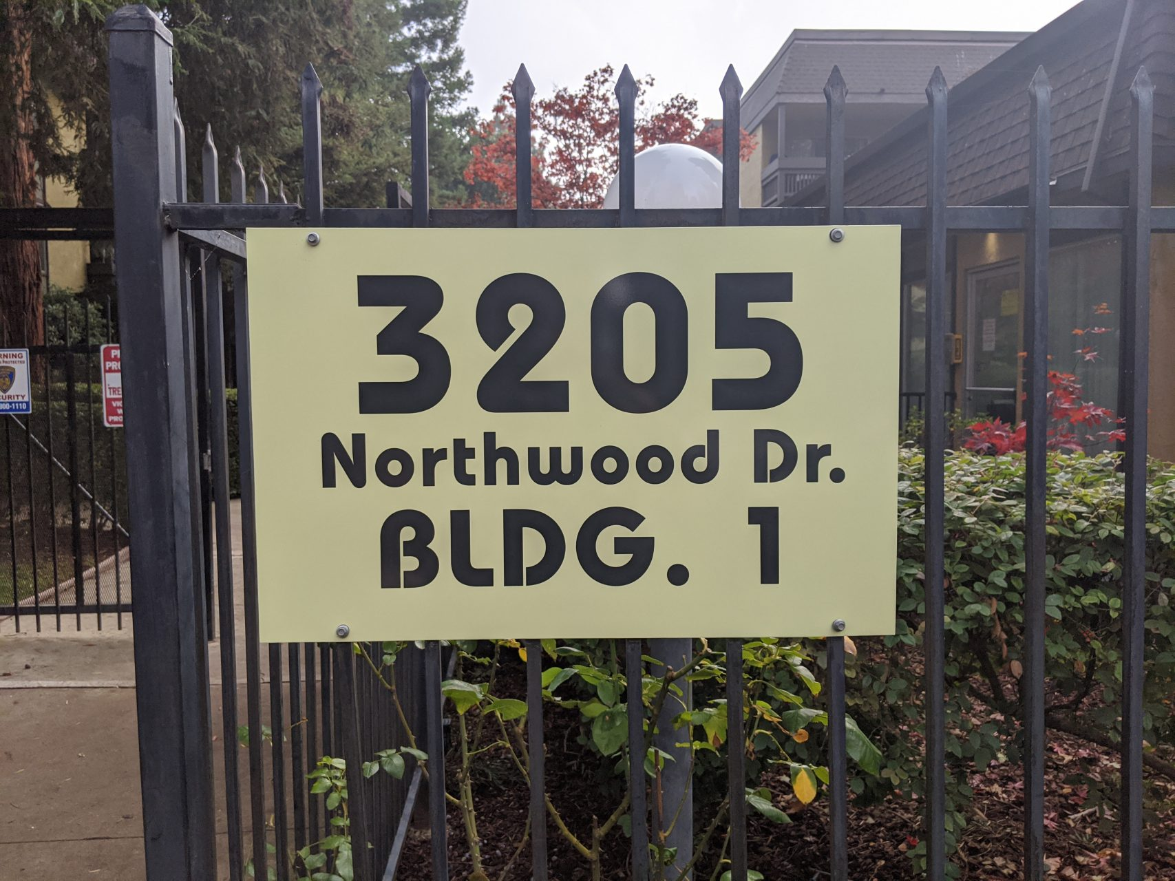 Building Identification Signs - Sequoia Signs Orinda