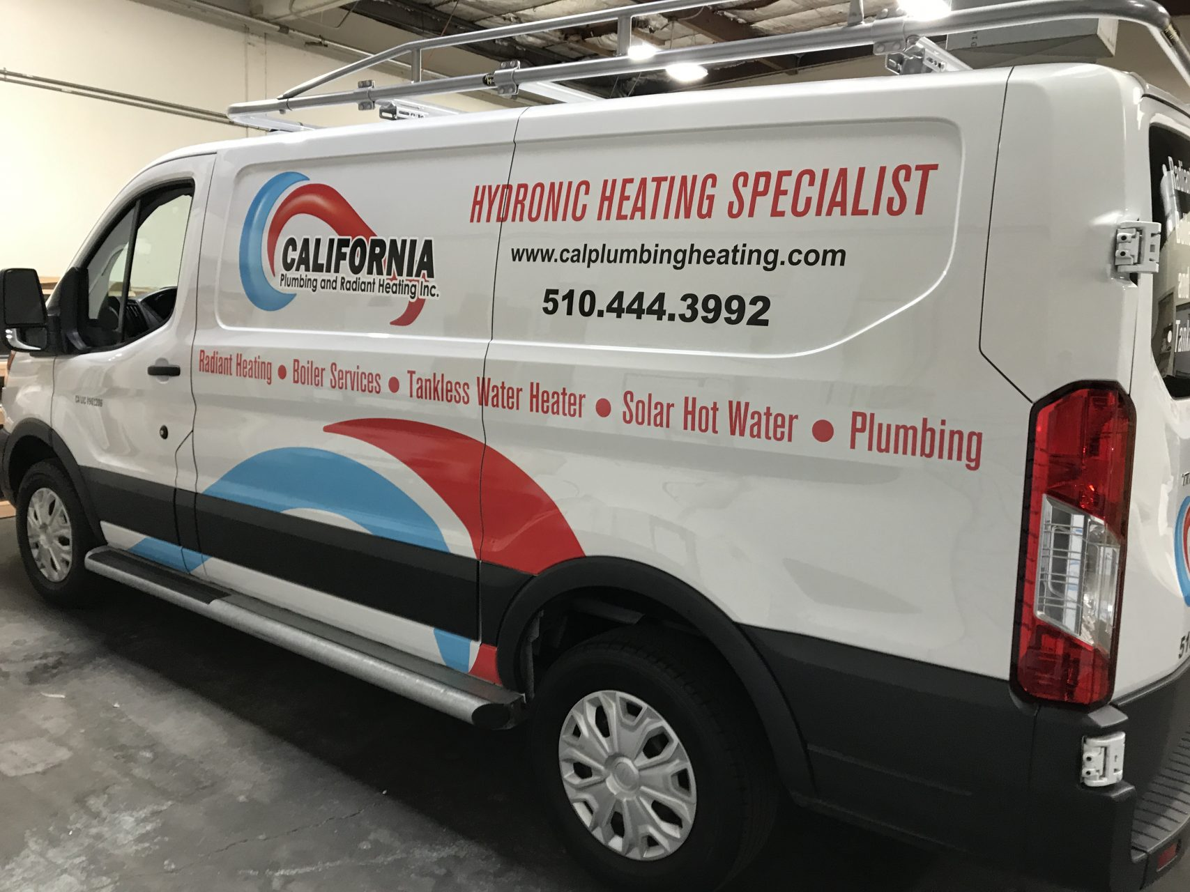 Commercial Van Graphics - Sequoia Signs Alameda