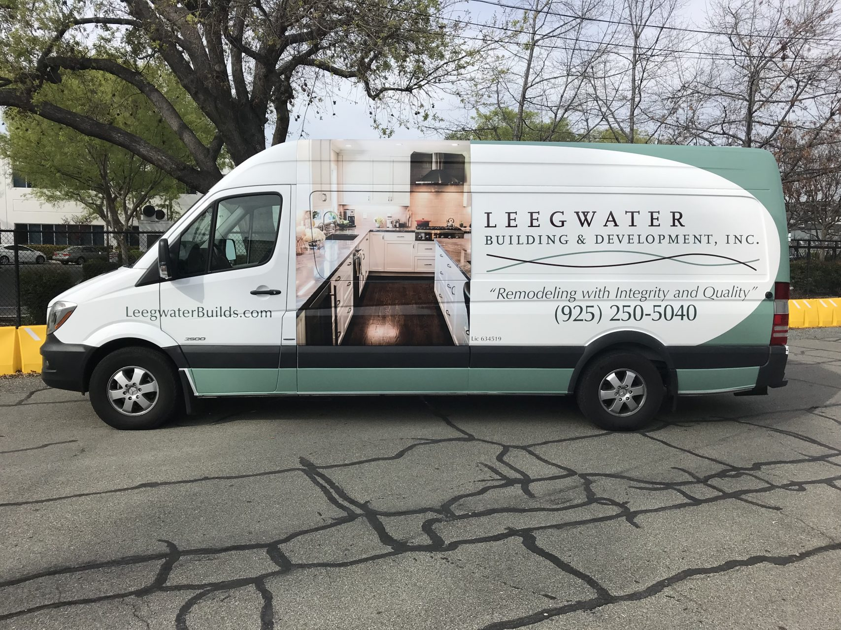 Commercial Van Wrap - Sequoia Signs Berkeley