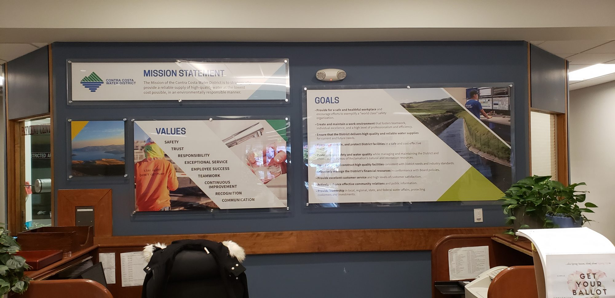 Company Environmental Signage - Sequoia Signs Contra Costa