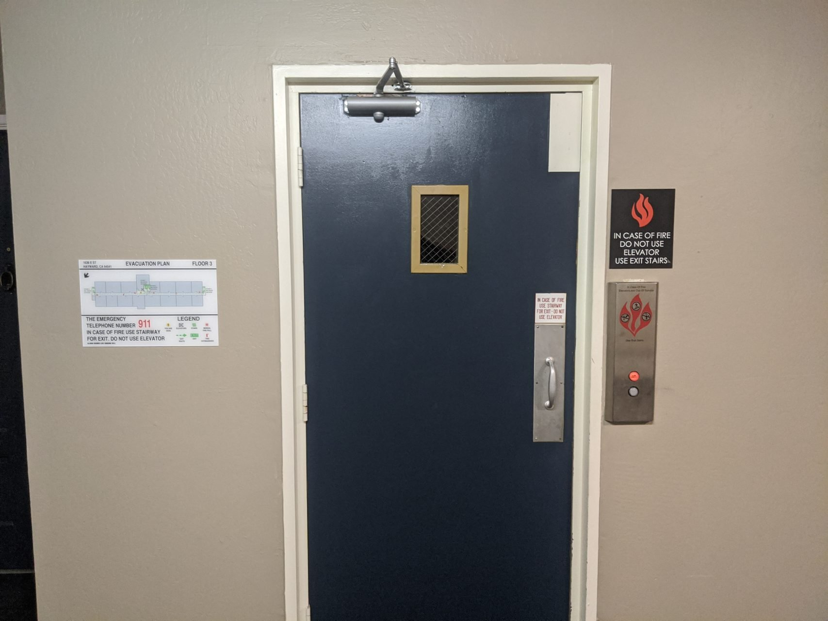 Fire Evecuation Signs - Sequoia Signs Fairfield