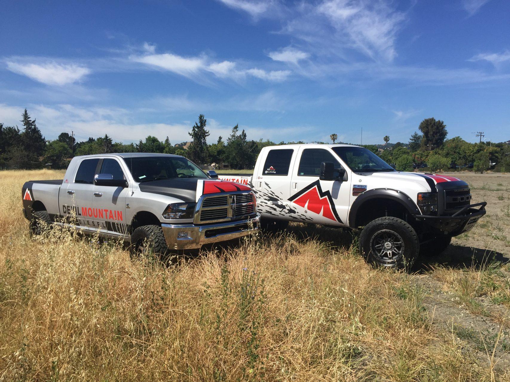 Fleet Vehicle Graphics - Sequoia Signs Concord