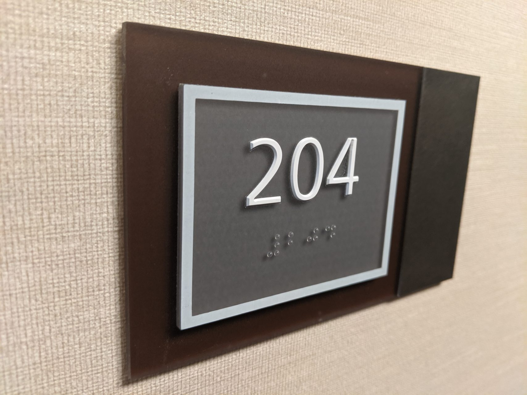 Hotel ADA Signs - Sequoia Signs Pacheco