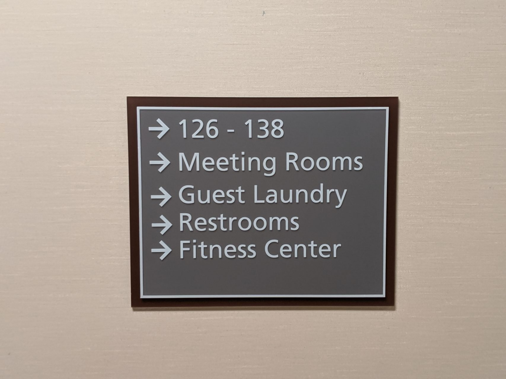 Hotel Wayfinding Signs - Sequoia Signs Contra Costa