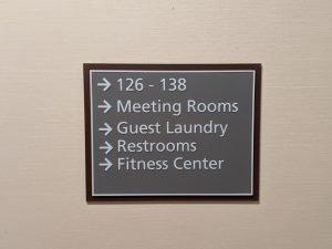 _Hotel Wayfinding Signs - Sequoia Signs Contra Costa