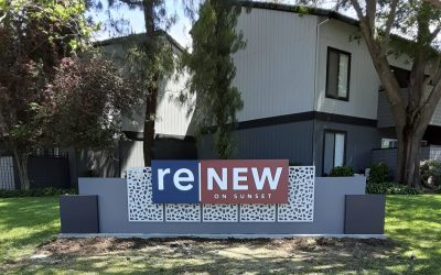 Increase the value of a Multi-Family Community with signs in Walnut Creek, CA