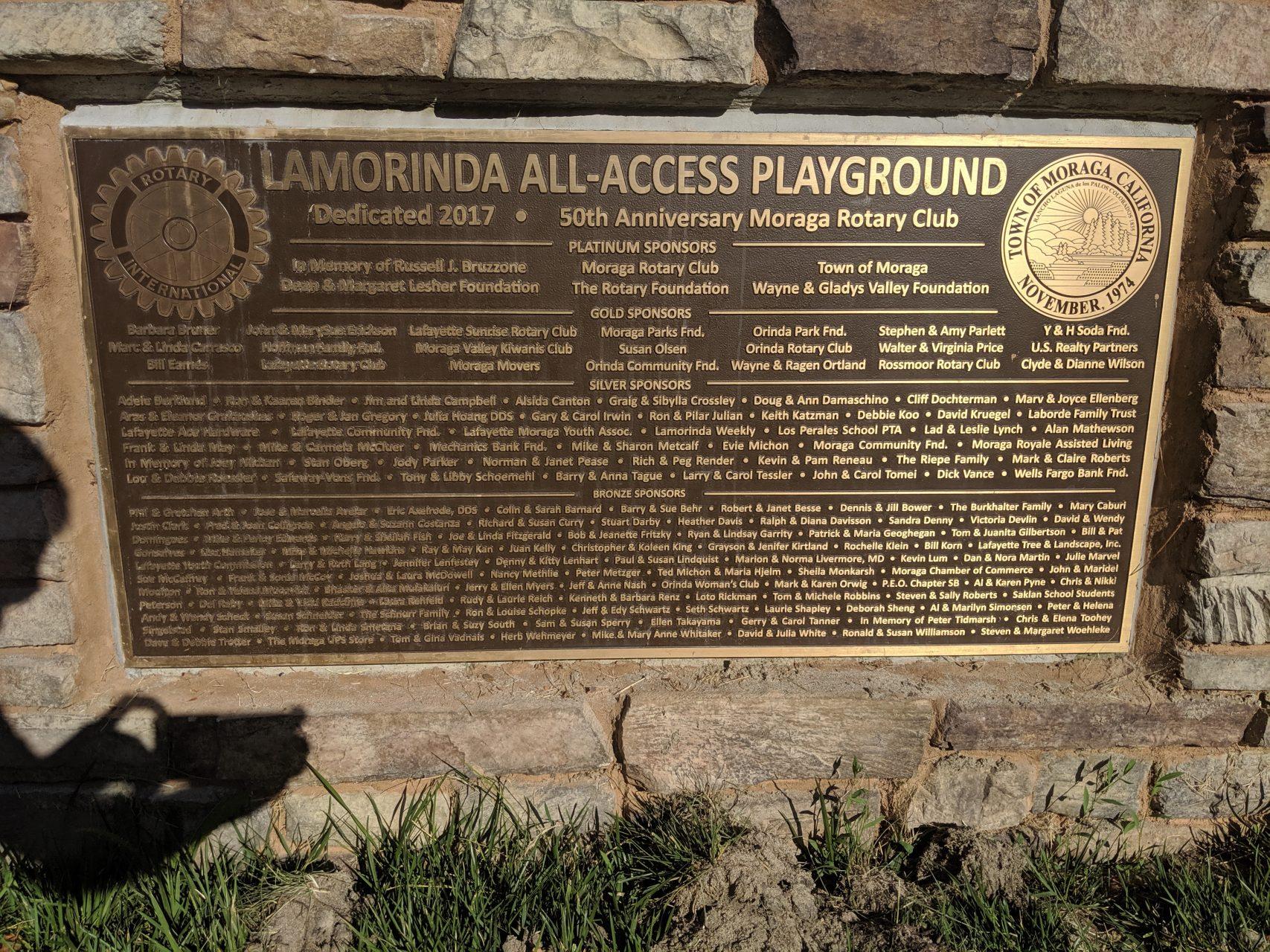 Plaque Environmental Signage - Sequoia Signs Moraga