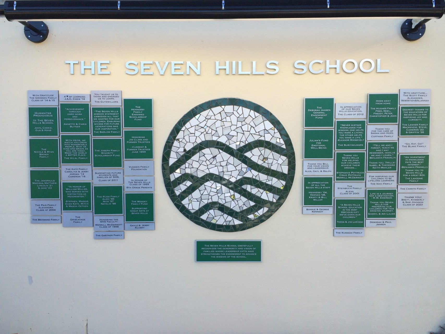 School Environmental Signage - Sequoia Signs Walnut Creek