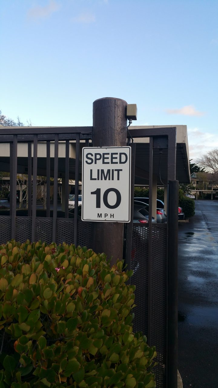 Speed Limit Safety Signs - Sequoia Signs Berkeley
